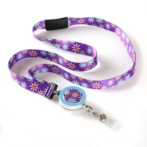 Starflower Ribbon Lanyard