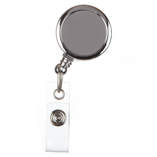 Basic Silver Badge Reel
