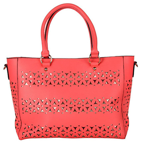 Tangier Coral Moroccan Bag or Purse for Women