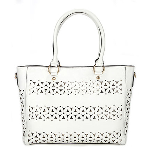 Tangier White Moroccan Bag or Purse for Women