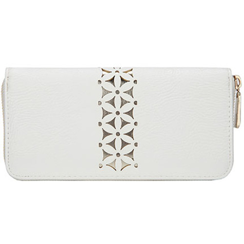 Tangier White Moroccan Style Women's Wallet