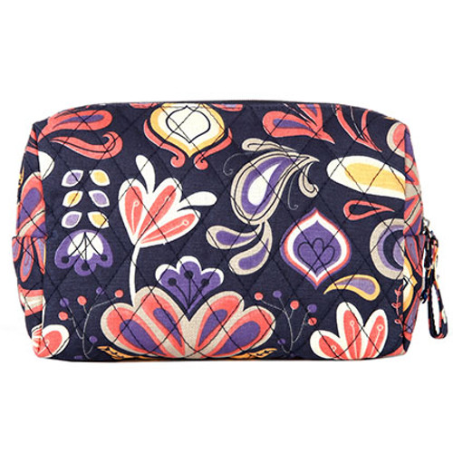 Tangier Zipper Cosmetic Travel Bag