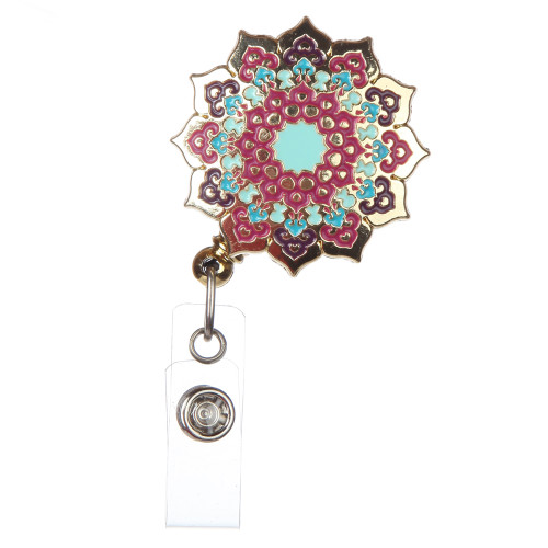 Jaipur India Design Badge Reel