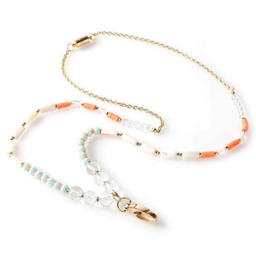 Artemis Chain and Beaded Lanyard