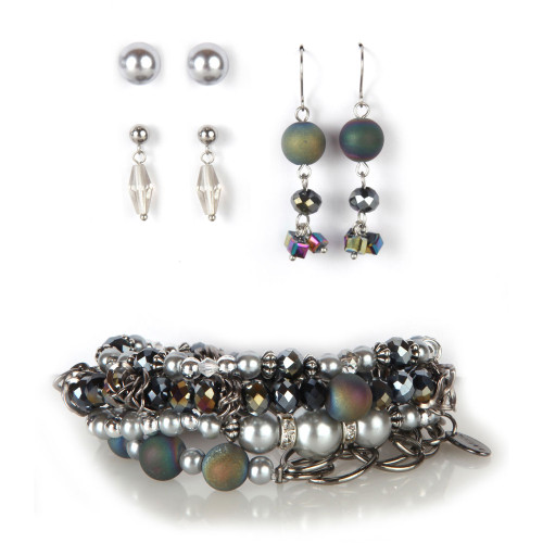 Twilight Bracelet & Earring Set