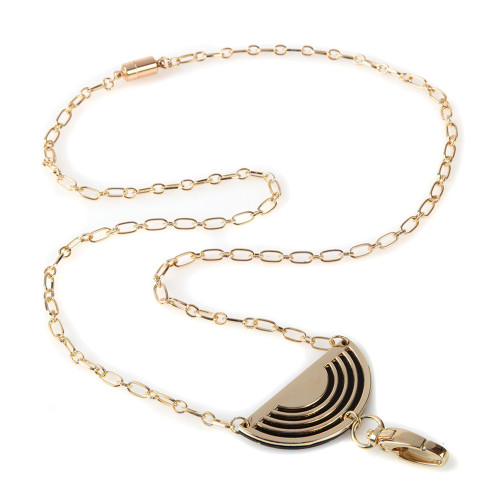 Cleo Fashion Chain Necklace Lanyard with Pendant