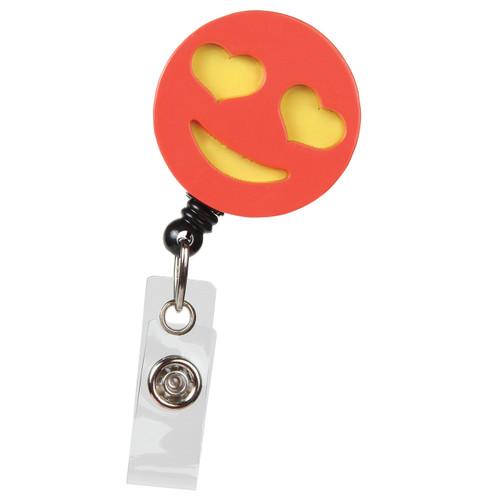 Goo Goo Heart Eyes Emoji Like Badge Reel