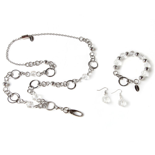 London Gift Set with Lanyard, Earrings and Bracelet