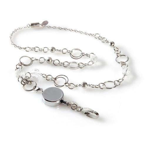 London Chain Lanyard with Detachable Reel