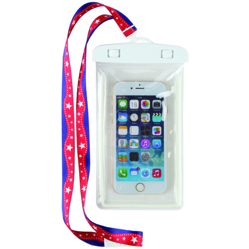 Super Stars Waterproof Cell Phone Case Lanyard