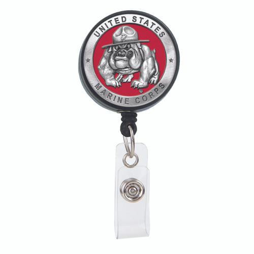 US Marine Corps Bulldog Badge Reel