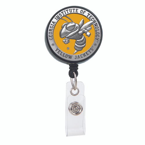 Georgia Tech University Yellow Jackets Badge Reel