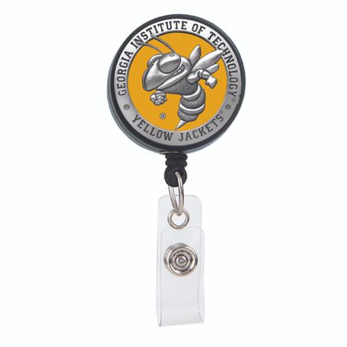 Georgia Tech University Yellow Jackets Badge Reel
