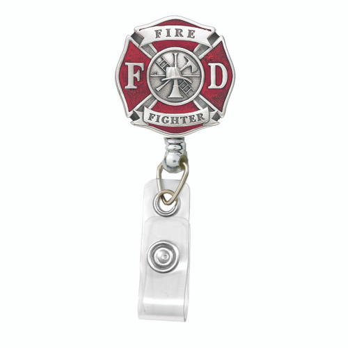 Fire Fighter Badge Reel