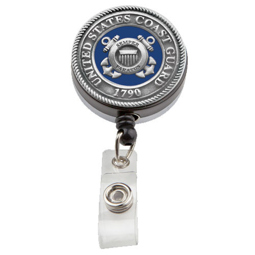 United States Coast Guard Badge Reel