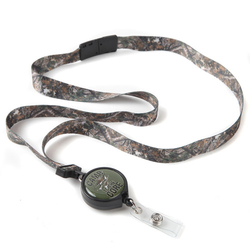 Camo to the Core Camouflage Ribbon ID Badge Lanyard