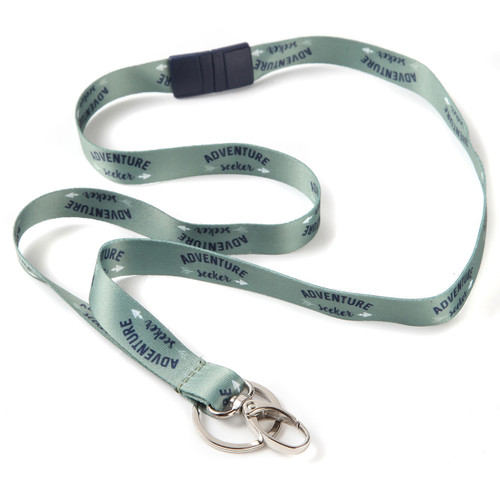 Adventure Seeker Key Ribbon Lanyard