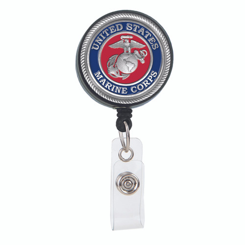 United States Marine Corps ID Badge Reel