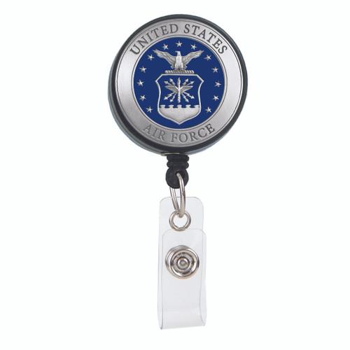 United States Air Force ID Badge Reel