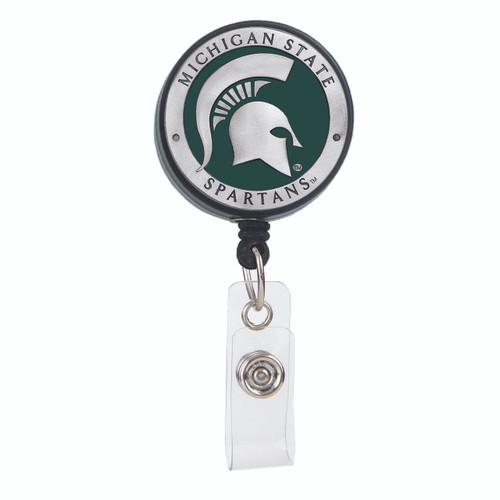 Michigan State University Spartans ID Badge Reel