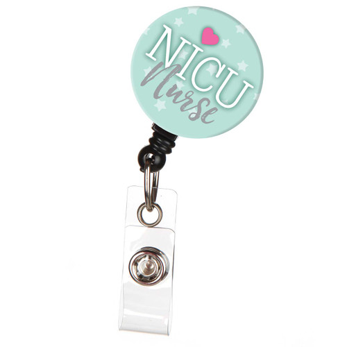 NICU Nurse ID Badge Reel