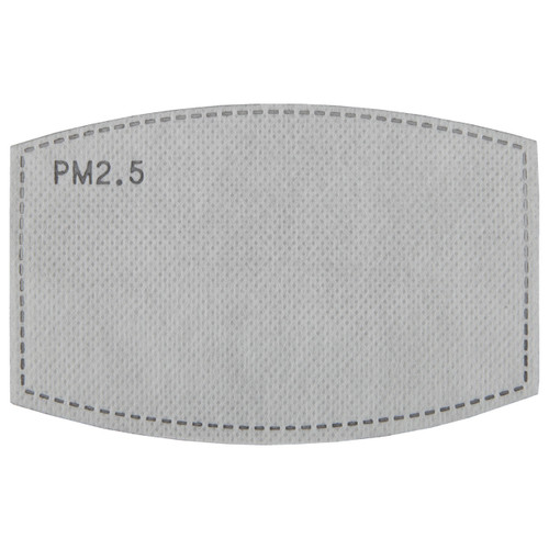 PM 2.5 carbon mask replacement filters