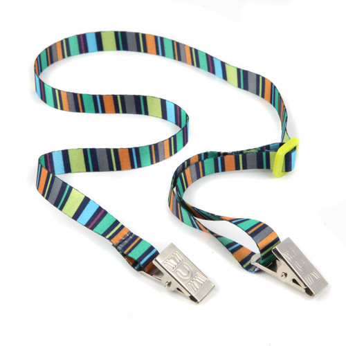 Colorblocks Face Mask Lanyard