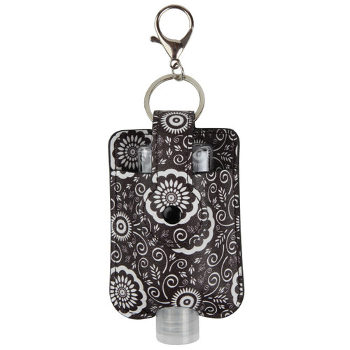Medallion Travel Hand Sanitizer Holder  with convenient hook