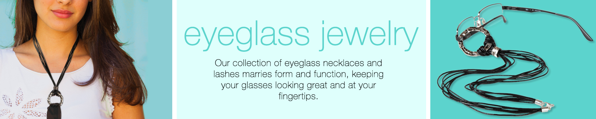 Eyeglass necklaces and leashes