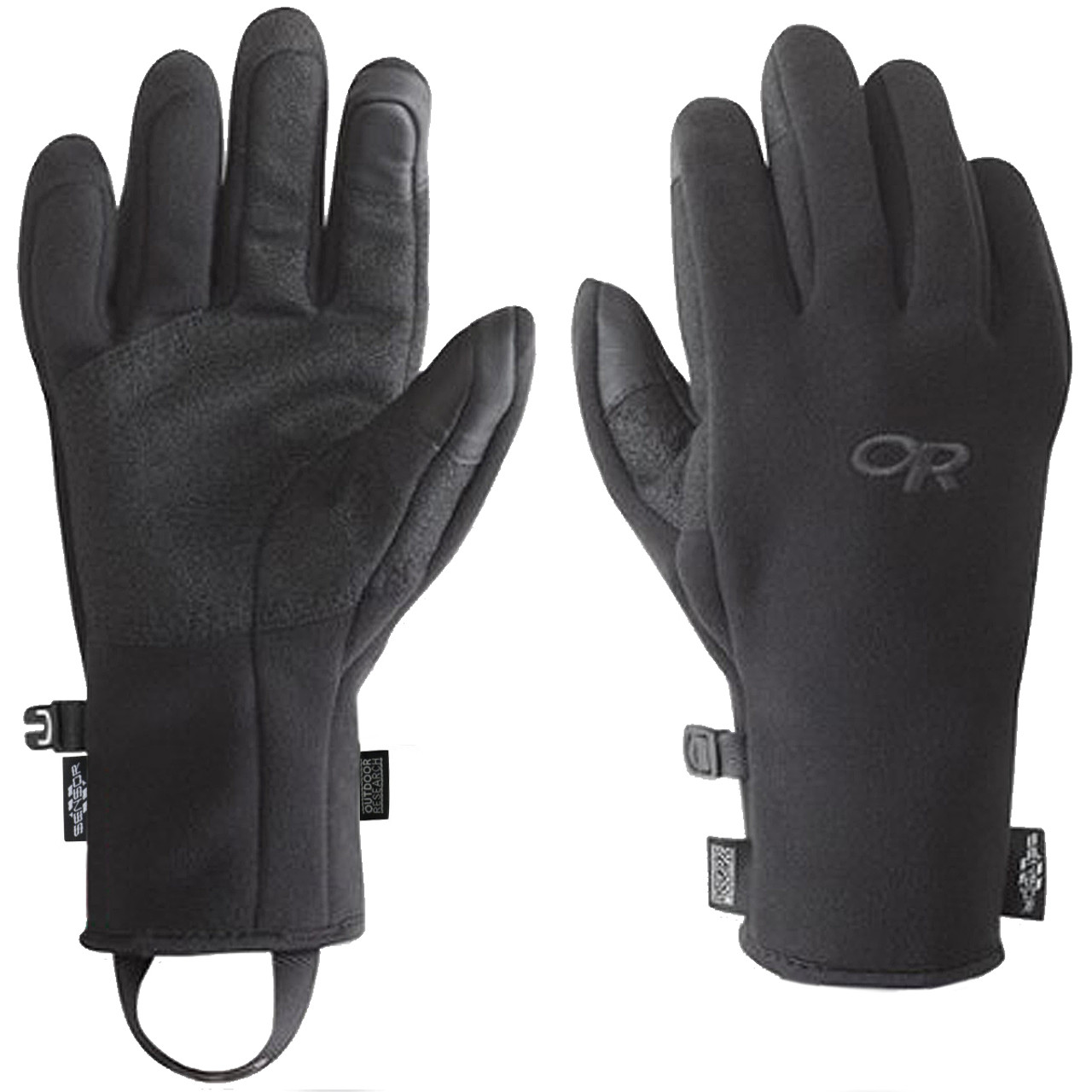 Outdoor Research Gripper Sensor Mens Gloves Black All Sizes