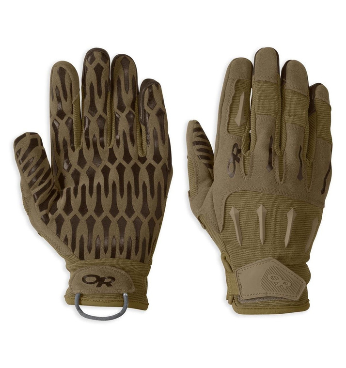 Outdoor Research Ironsight Combat Gloves Coyote Brown, Military, USMC, SOCOM, Law Enforcement