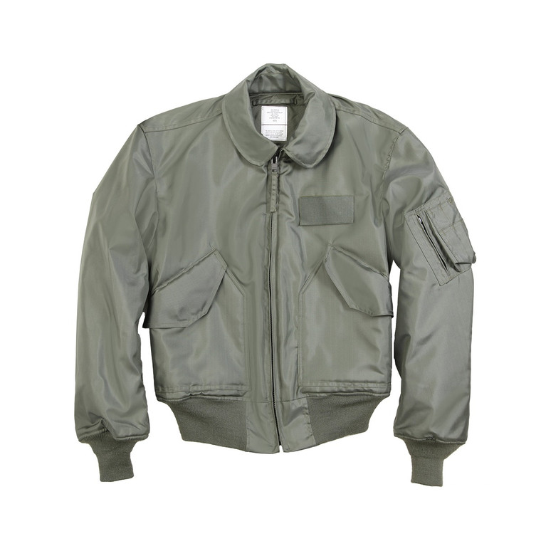 CWU 45/P Nomex Mil Spec Flight Jacket Sage Green USA Made