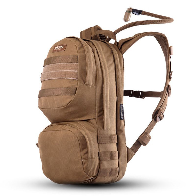 Source Tactical Commander 10L Hydration Cargo Pack Coyote Brown