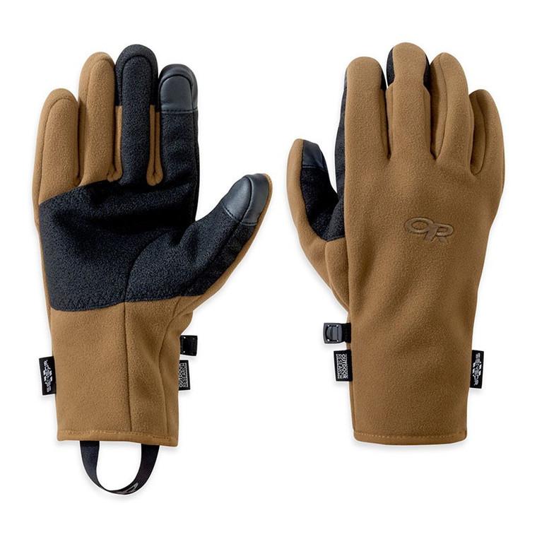 Outdoor Research Men's Gripper Sensor Gloves Coyote Brown