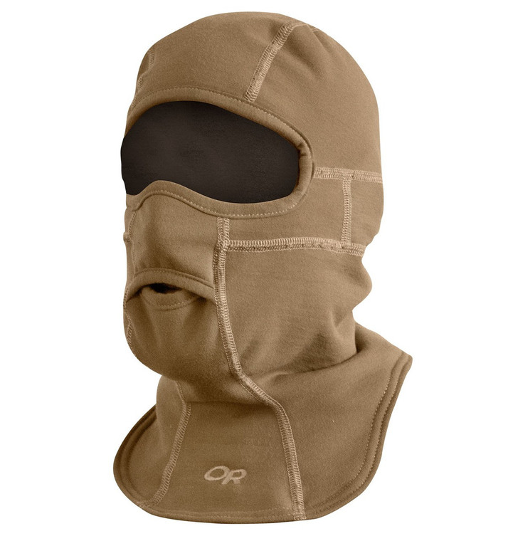 Outdoor Research Caribou FR Winter Balaclava Coyote Brown USA Made