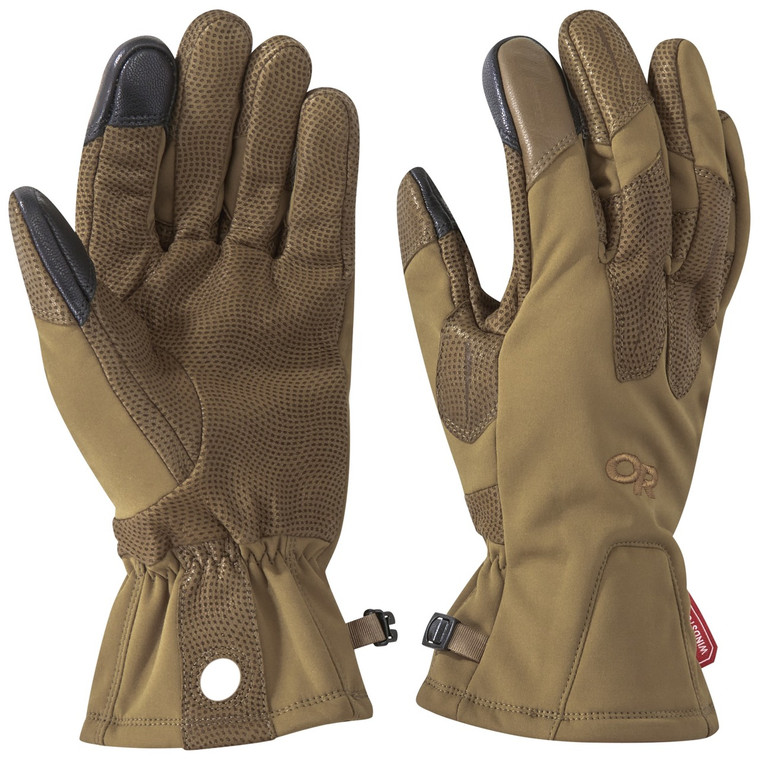 Outdoor Research Paradigm Sensor Gloves Coyote Brown