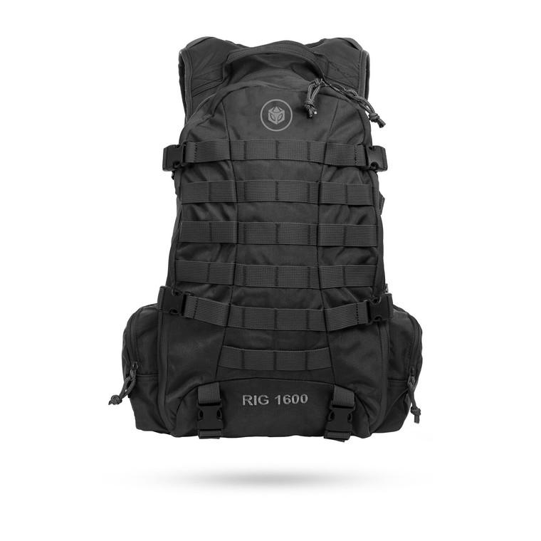 Aquamira Tactical RIG 1600 Black 100 oz Hydration System