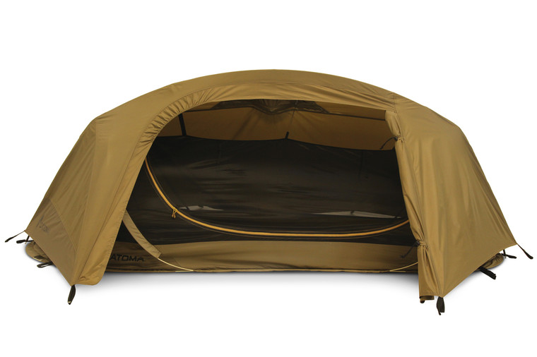 MMI Tactical Catoma Wolverine EBNS Tent Coyote Brown USA Made  (Improved spacious front entry)