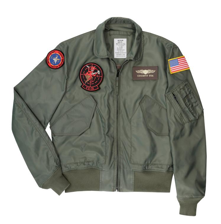 "Cockpit USA ""Movie Heroes"" CWU-36/P Flight Jacket USA Made"