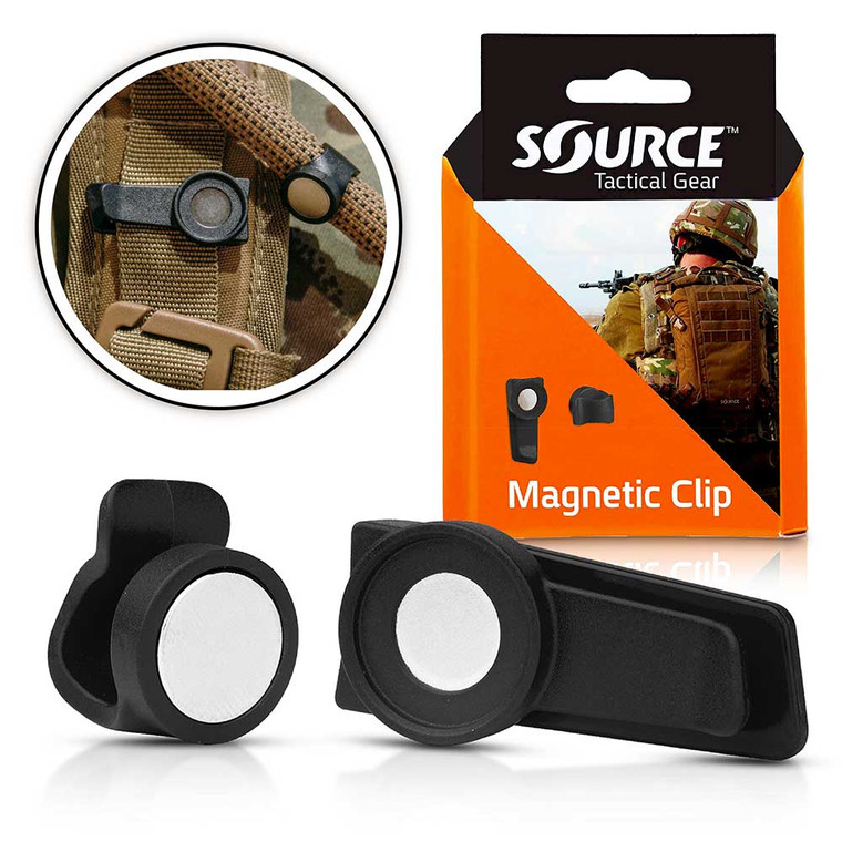Source Tactical Hydration Magnetic Tube Clip
