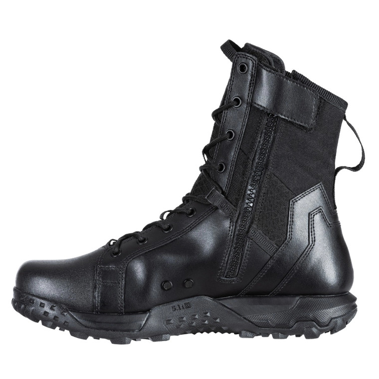 5.11 Tactical A.T.L.A.S. 8 inch Side Zip Boot Black