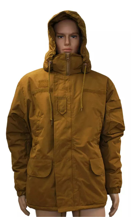 Maintainer Extreme Cold Weather Hooded Parka FR Water Proof Coyote Brown