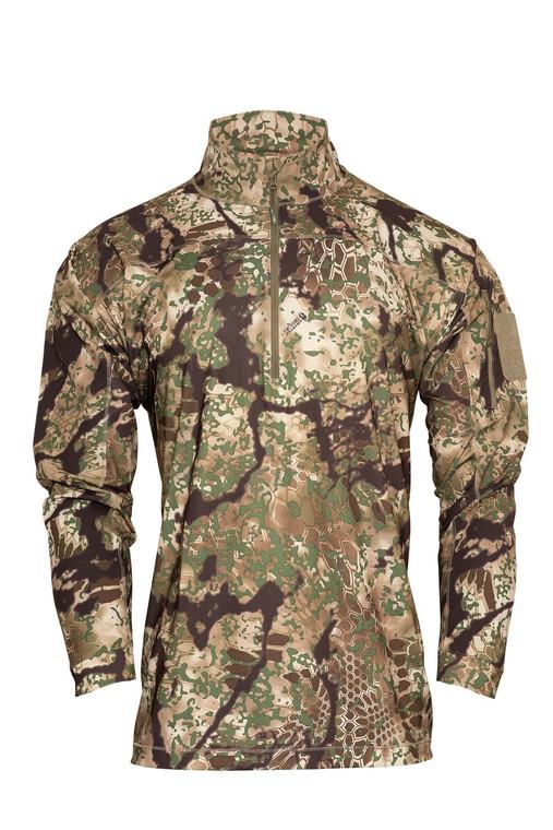 Kryptek Valhalla 2 Long Sleeve Quarter Zip Shirt Obskura Transitional