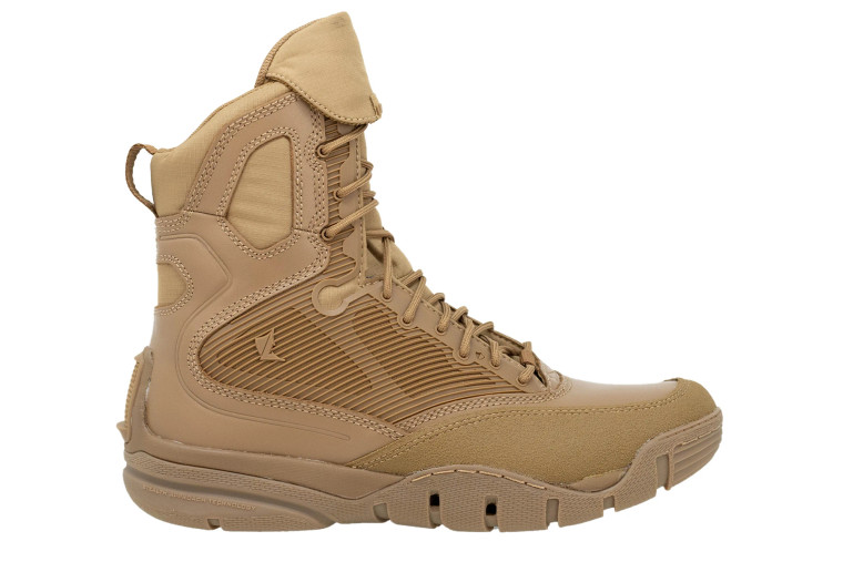 """LALO SHADOW AMPHIBIAN 8"""" Coyote Brown Boot"""