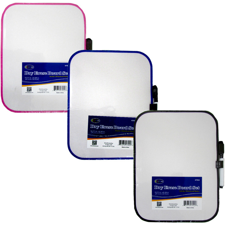 Dry Erase Board With Marker, 10.71 x 8.26