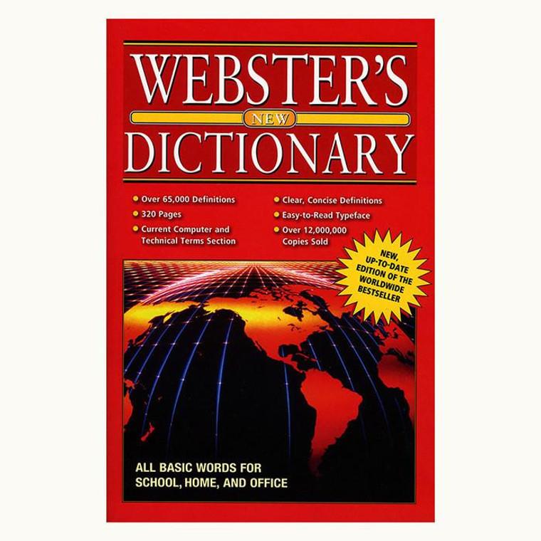WEBSTER Jumbo 320 Pg. English-English Dictionary