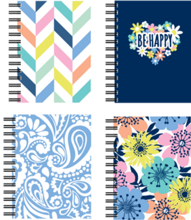 Studio C Fat Book - Happy Days - 150 Sheets - Front & Back Covers