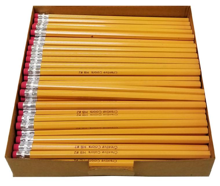 Creative Colors Pencils - #2 - 500ct