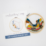 Embroidery + Sage Kit
