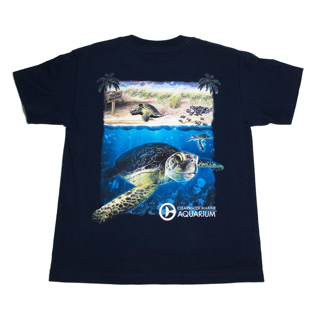 Clearwater Marine Aquarium Turtle Team Boy's Tee